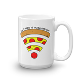 Pizza and Wifi Mug