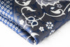 tribal floral navy silk pocket square gray geometric diamonds foundation menswear