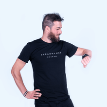 CleanMyMac Logo Men's Black T-Shirt