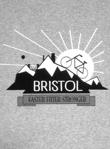Bristol Bike mountain T-shirt