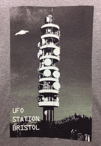 UFO Station Bristol T-shirt