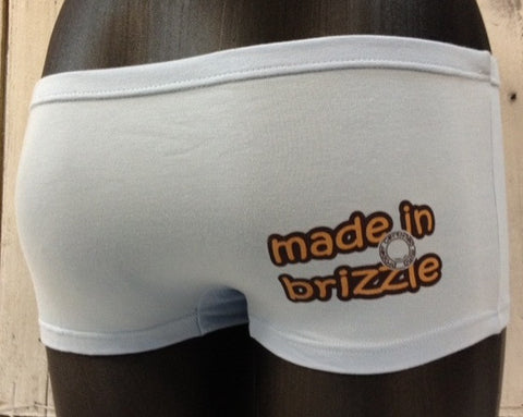 Made in Brizzle hotpant