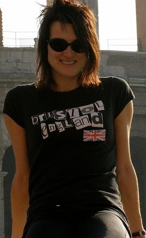 Bristol punk [Womens fitted tops]
