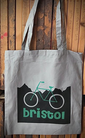 Bristol Bike Tote Bag