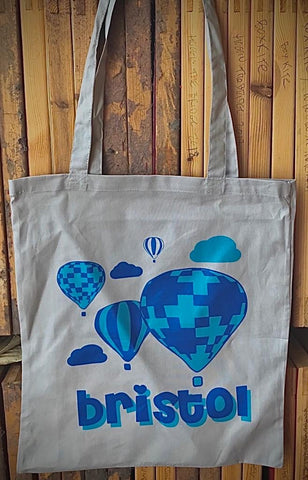 Bristol Balloon Tote Bag