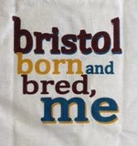 Bristol Born and Bred Baby T-shirt