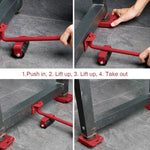 LiftPro™ Mover Rollers