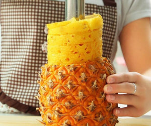 Pineapple Peeler in Stainless Steel