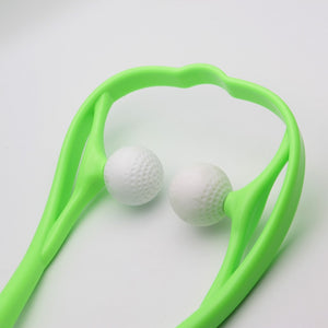Dual Trigger Point Self-Massager
