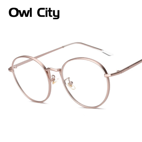 Oval Shaped Metal Frame Sunglasses