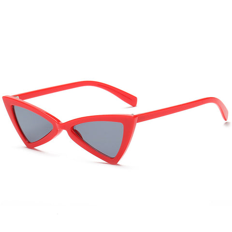 Triangular Shaped Retro Sunglasses