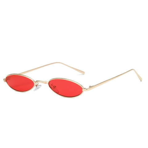 Tiny Round Shaped Retro Sunglasses