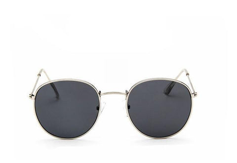 Round Mirror Sunglasses