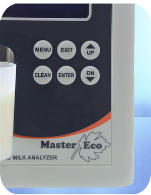 milk analyzer master eco keypad