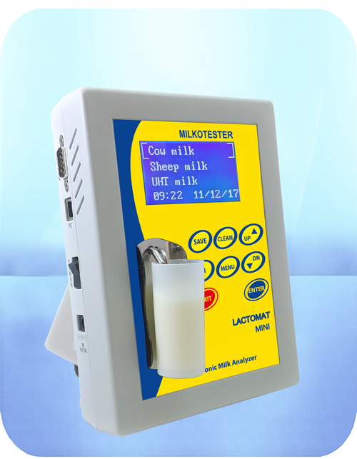 milk analyzer lactomat rapid mini