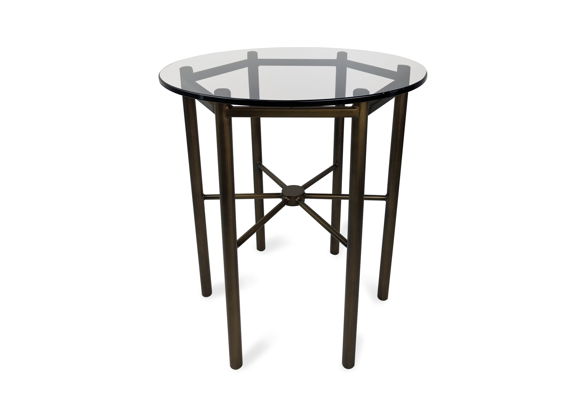 Lester Glass Side Table