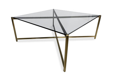 Loyd Smoked Glass Coffee Table Square