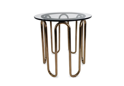 Denby Side Table - Glass