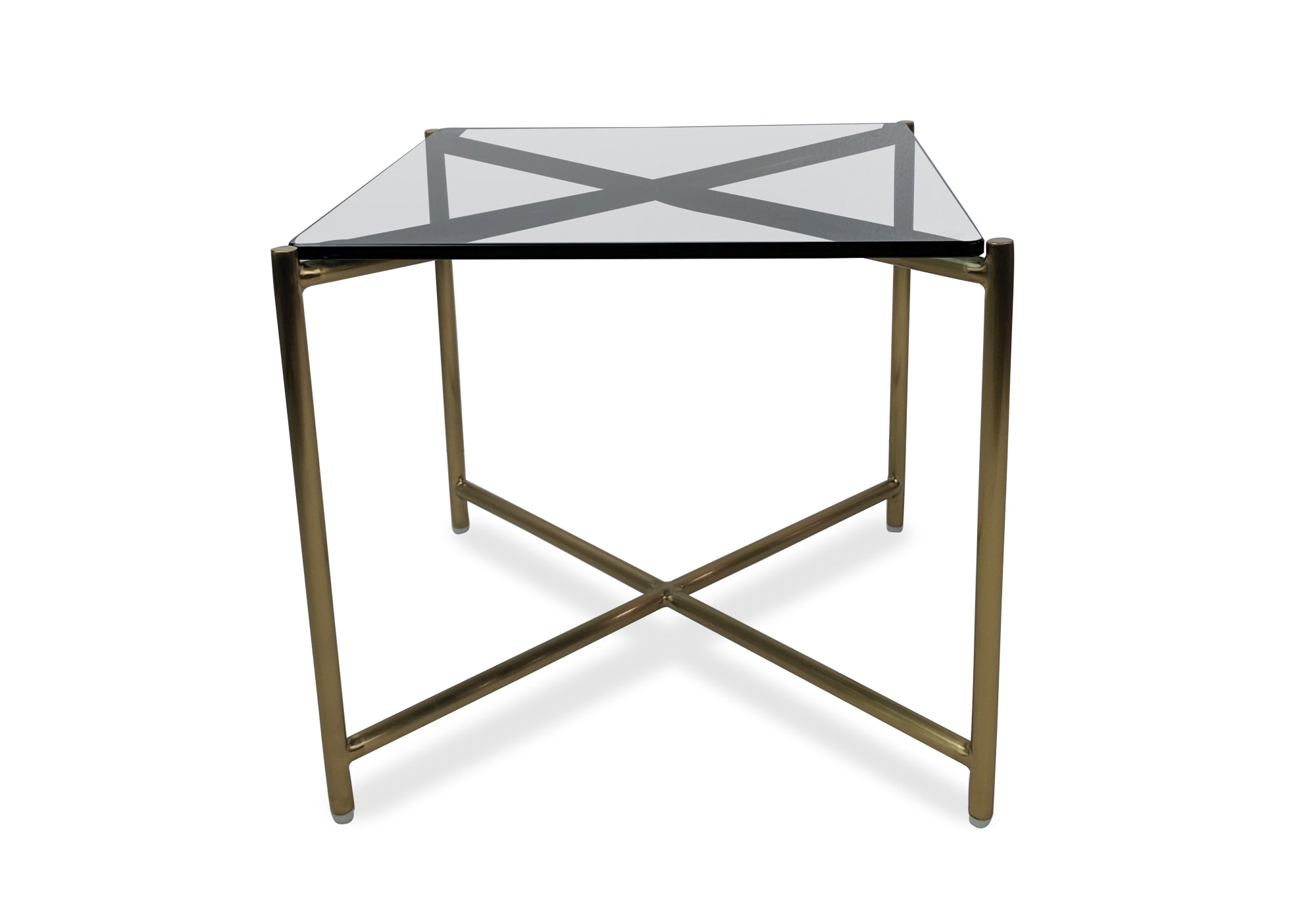 Loyd Smoked Glass Mini Tea Table