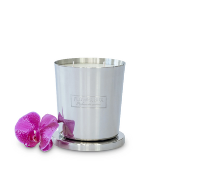 Flower Box Amber Orchid fragrance Candle