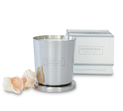 Flower Box aqua fragrance Candle