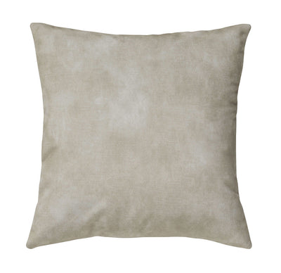Lovely velvet cushion - Ecru