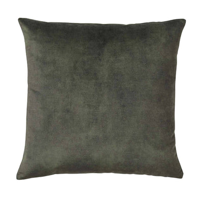 Lovely velvet cushion - Jade