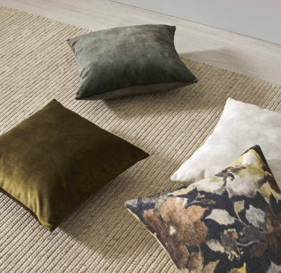 Lovely velvet cushion - Moss