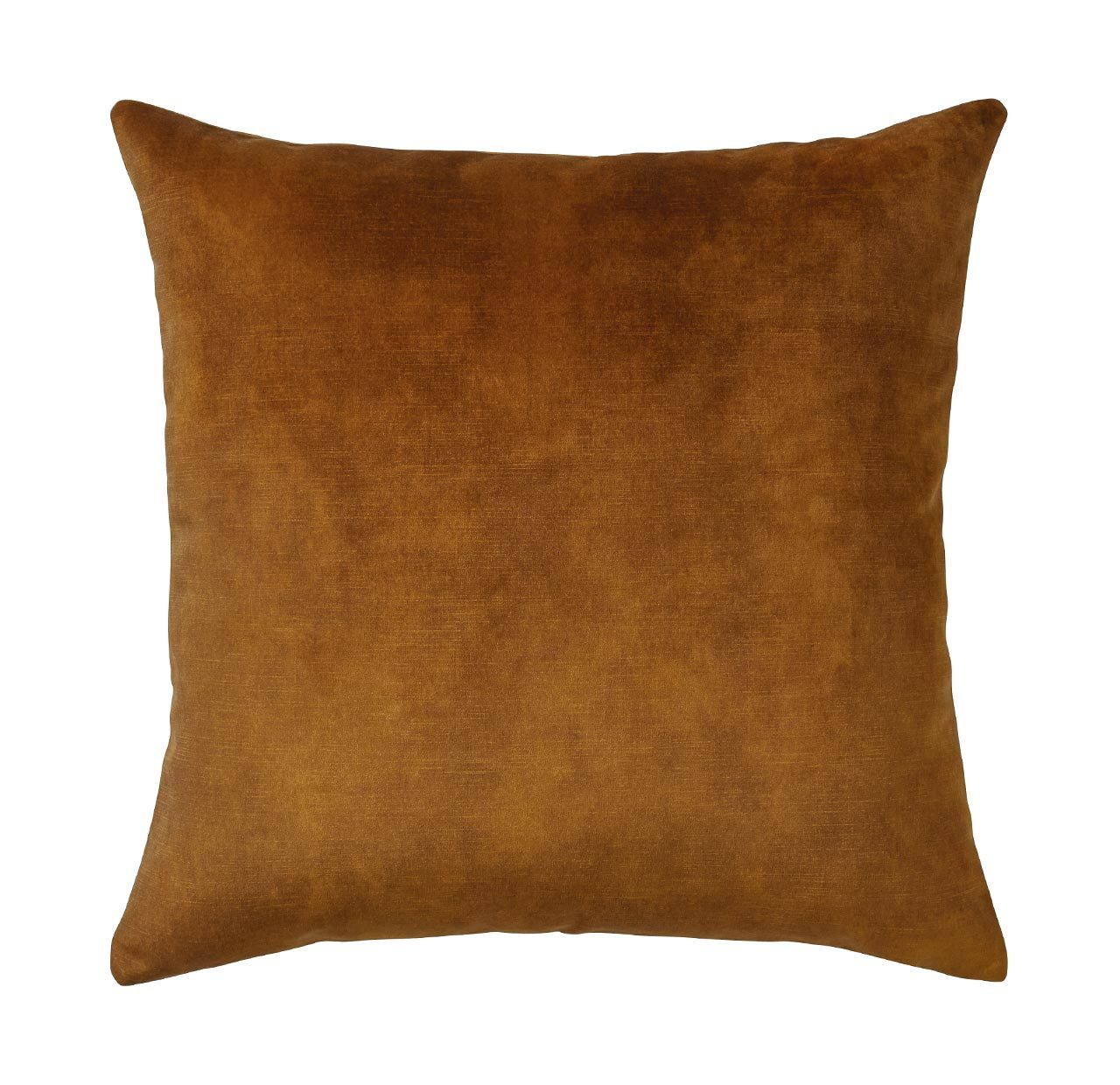 Lovely velvet cushion - Ochre