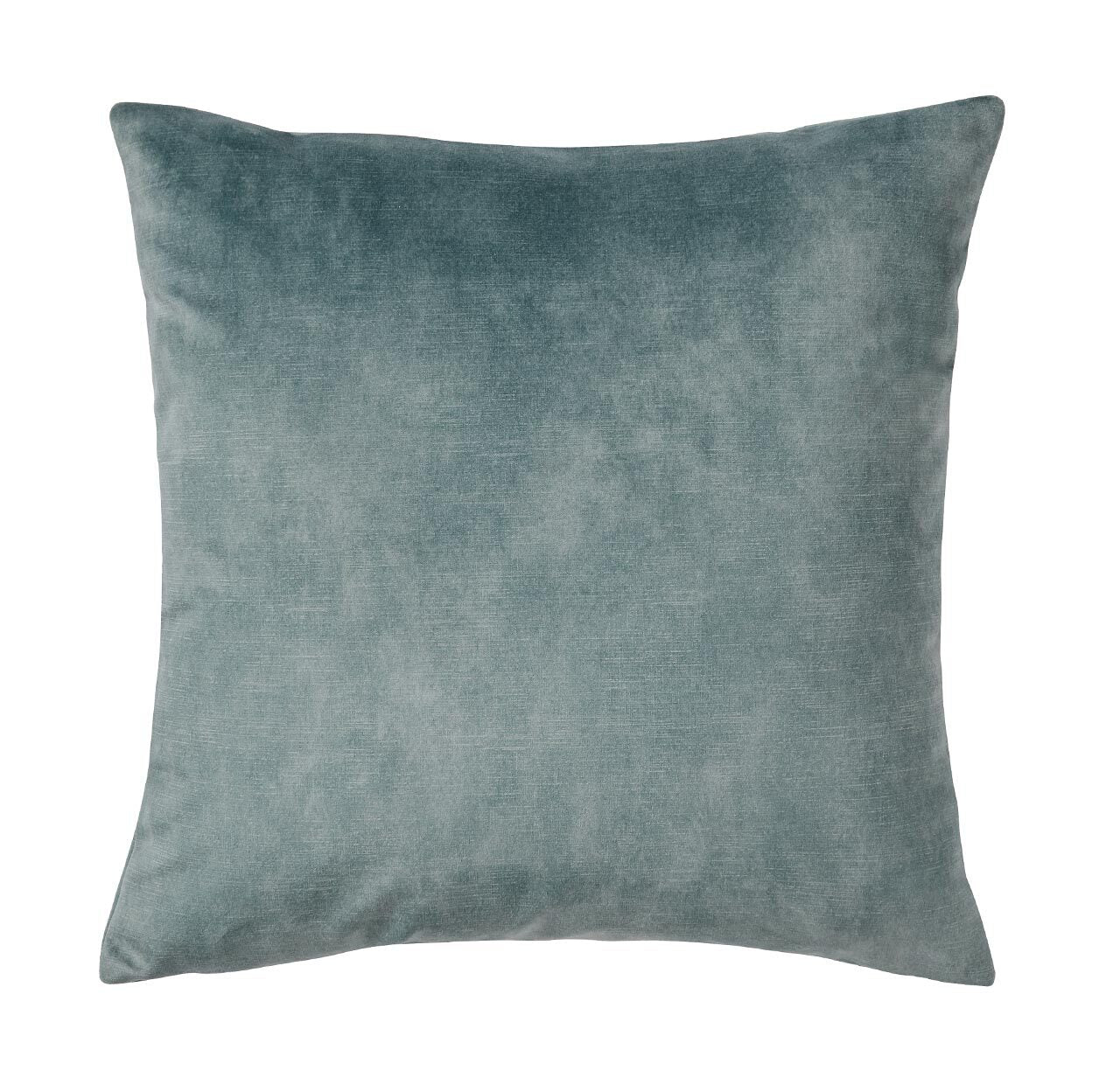 Lovely velvet cushion - Aqua
