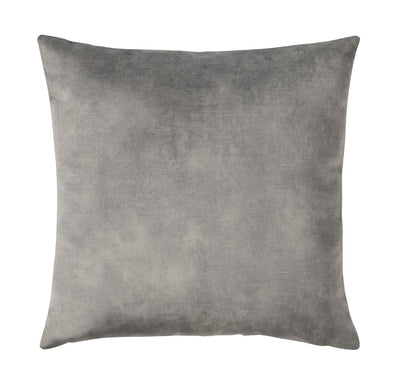 Lovely velvet cushion - Steel