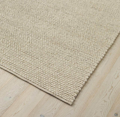 Weave Emerson floor rug Seasalt available in Domain Gallery