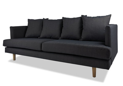domain gallery vito 3 seater sofa