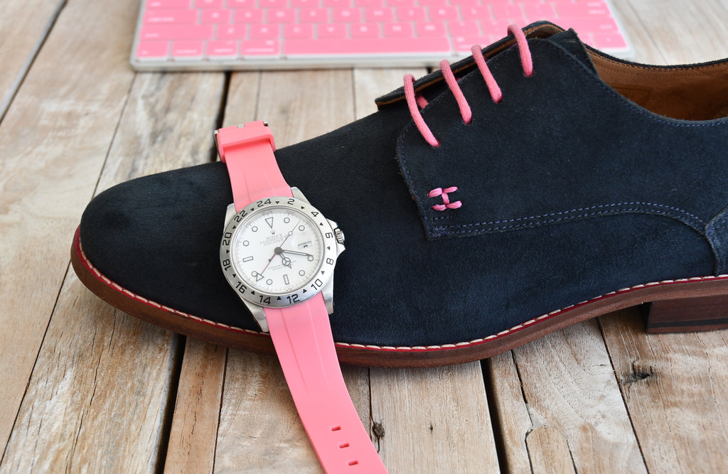 CASUAL CHIC - NAVY BLUE & PINK
