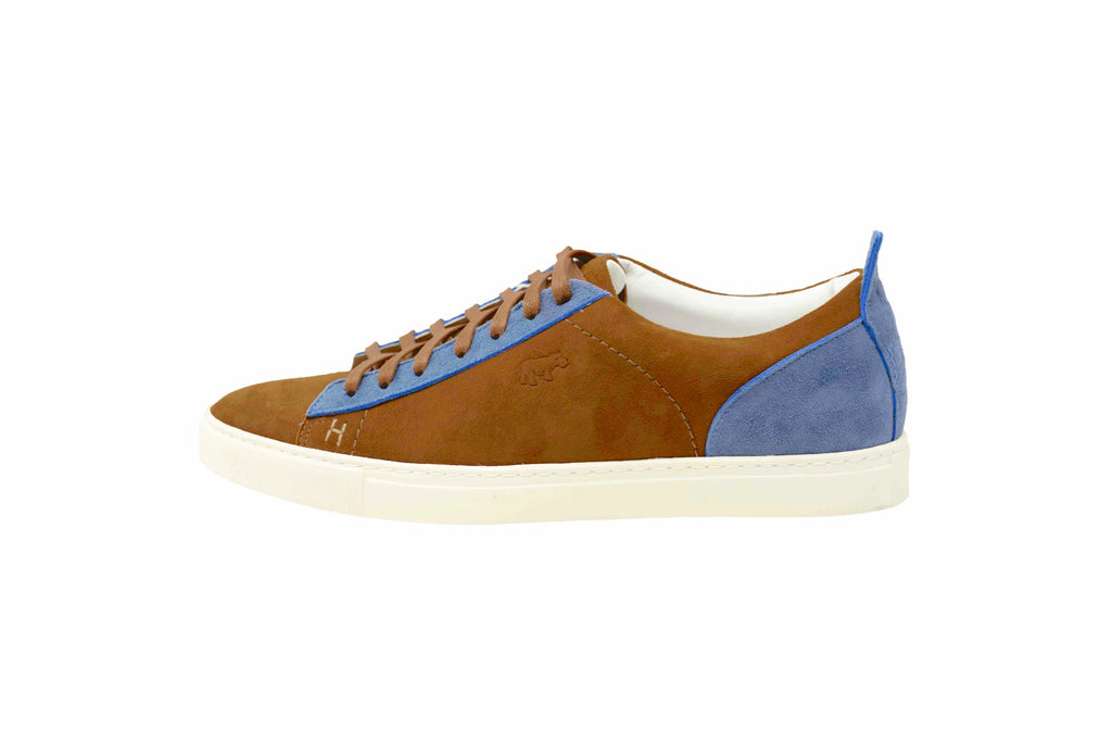 ESCAPE - LIGHT BROWN & ROYAL BLUE