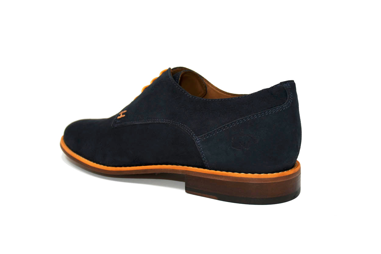 CASUAL CHIC - NAVY BLUE & ORANGE