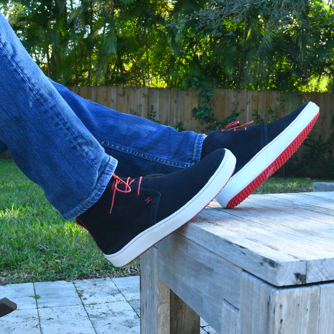 TRAVELERS - NAVY BLUE & RED