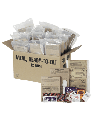 DELUXE FIELD READY RATIONS (MRE) - Mountaineer Tactical