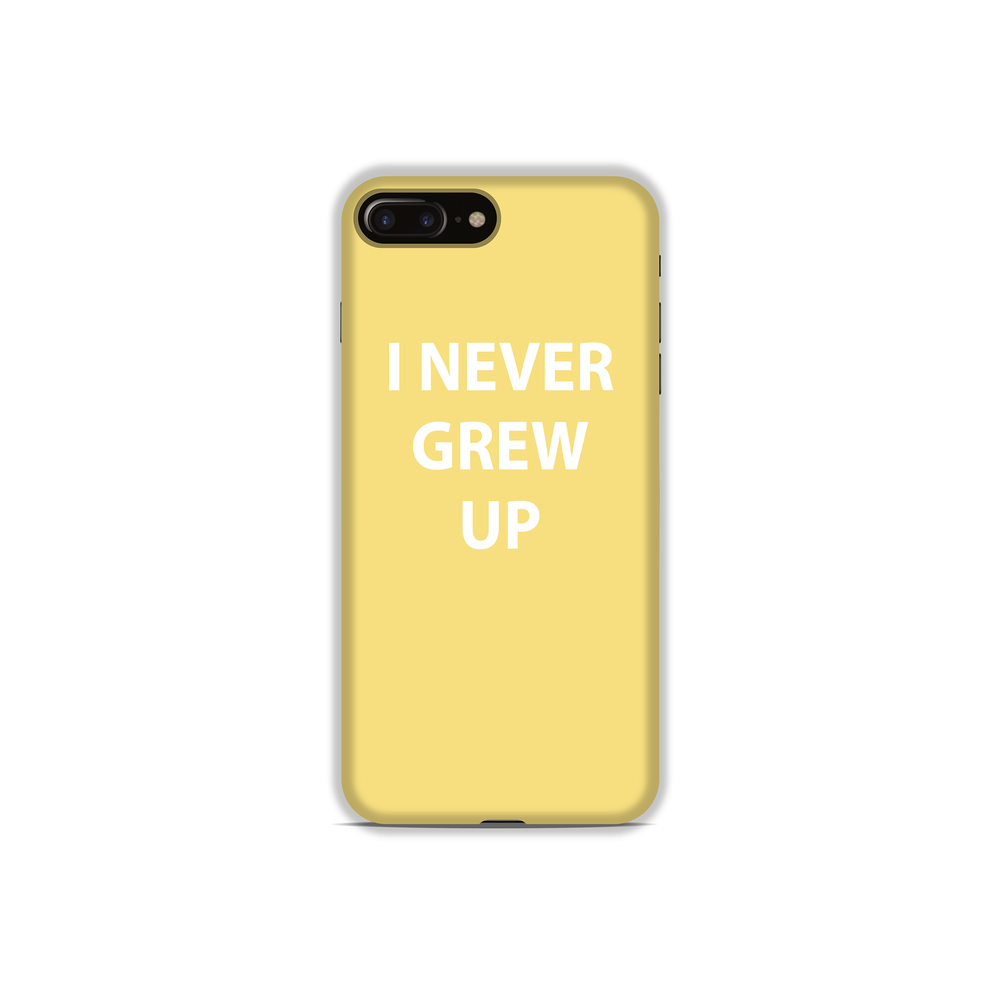 I Never Grew Up Phone Case - StudioMouthy