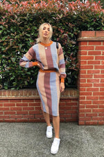 Knitted Two Piece Autumn - StudioMouthy