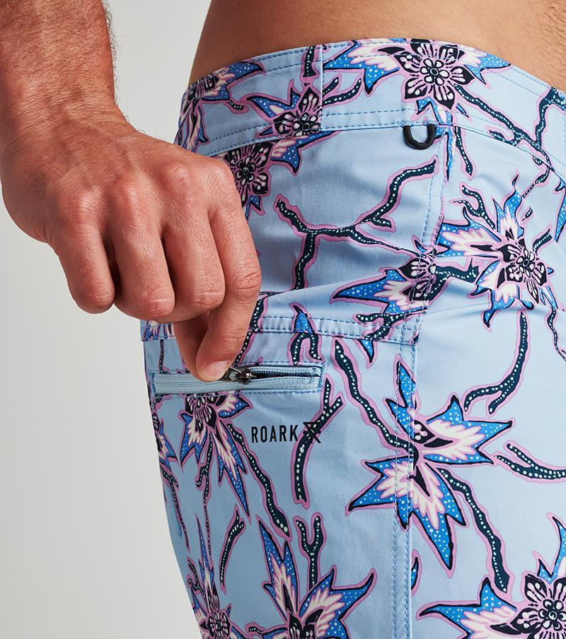 "Passage Batik Bloom Boardshorts 19"" Roark"