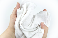 A cloth like no other that is durable and able to clean your entire body without leaving a sticky residue