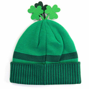 HidLids Leprechaun Knit Beanie Hat | Adult