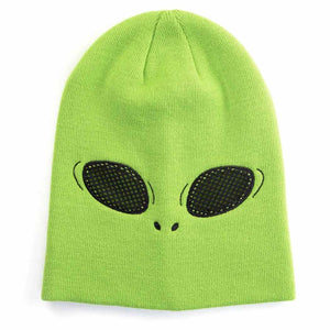 HidLids Alien Beanie Hat & Mask | Youth