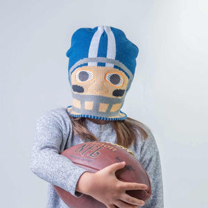 HidLids Football Beanie Hat & Mask | Youth