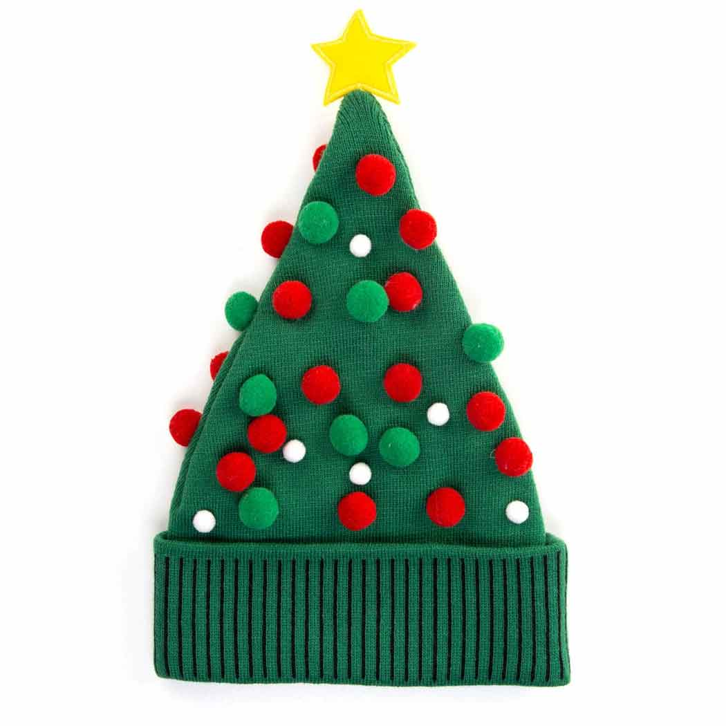 hidlids christmas tree knit beanie hat adult hidlids christmas tree knit beanie hat adult