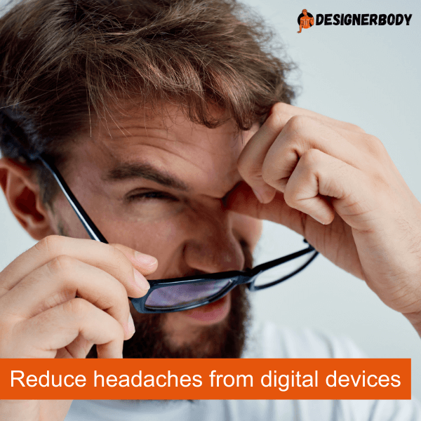 Blue light blocking glasses south africa Reduce headaches from digital devices
