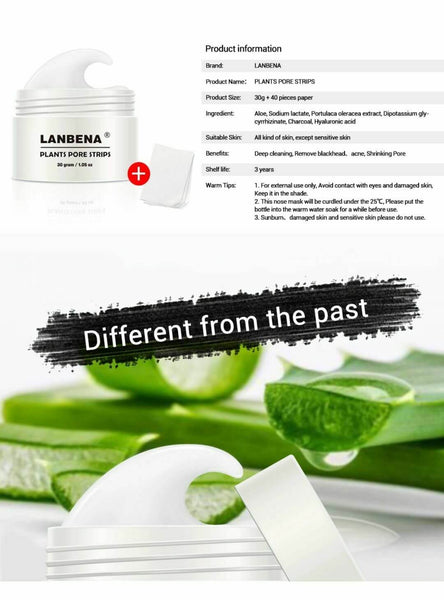 lanbena blackhead pore strips