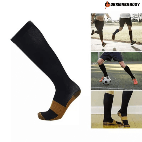 Image of Copper Compression Socks, Full Length