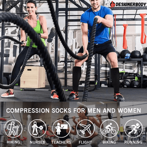 Copper Compression Socks, Full Length